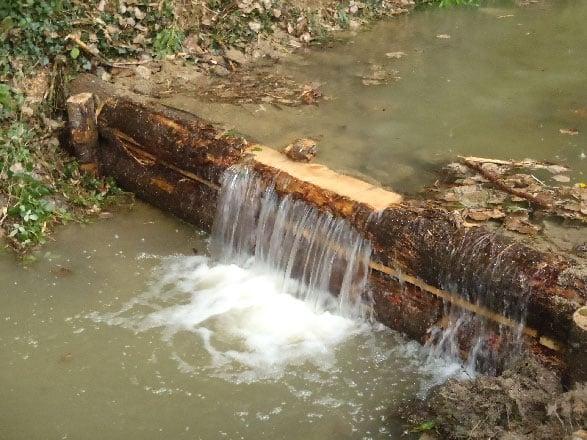 Le bois, comme matériau dans la construction des barrages