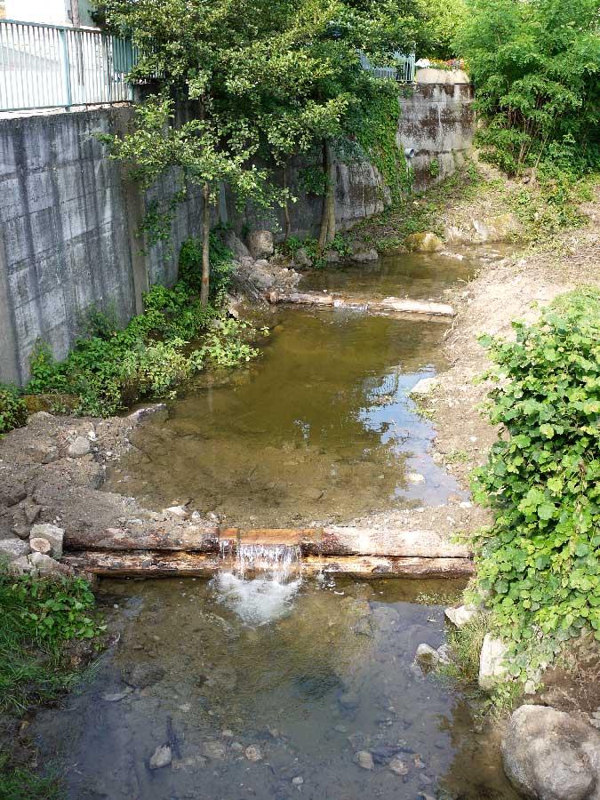 Barrages successif et seuils de calage pour le syndicat des trois rivières à Andance