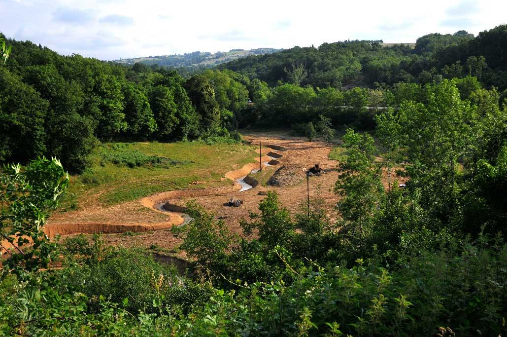 Génie écologique : mesure compensatoire, détournement d'un cours d'eau