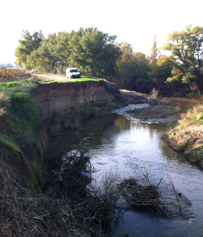 Lafarge Granulat Sud exploitation de la carrière alluvionnaire de Cavaillon