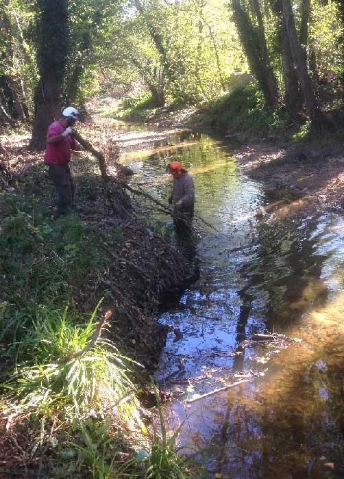 Entretien des rivières