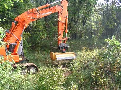 Débroussaillement et préparation de terrain