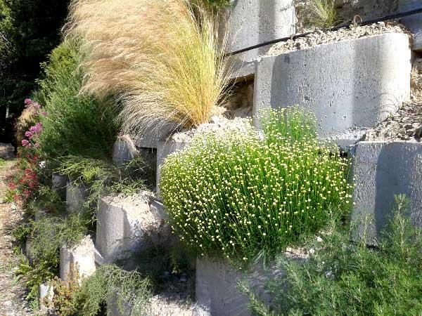 Mur de soutènement en caisson Reboul