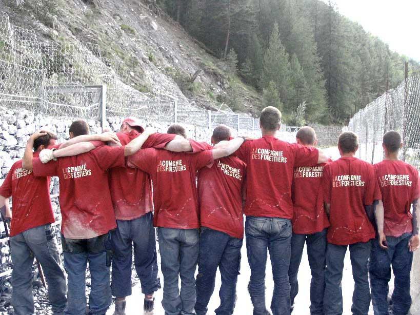 La Compagnie des Forestiers, une équipe soudée l