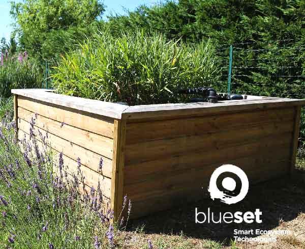 Phytoépuration : La Compagnie des Forestiers est installateur agréé BlueSET sur les Bouches du Rhône et le Var - Phytostation Recycl'eau