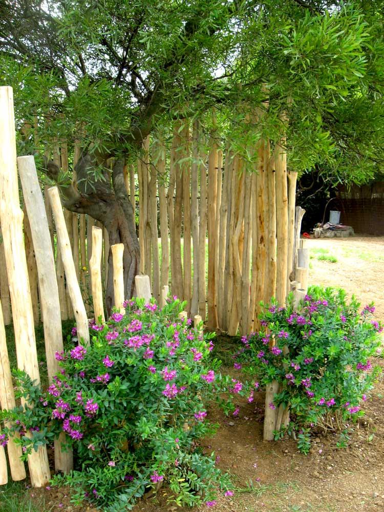 Aménagement paysager - cabane