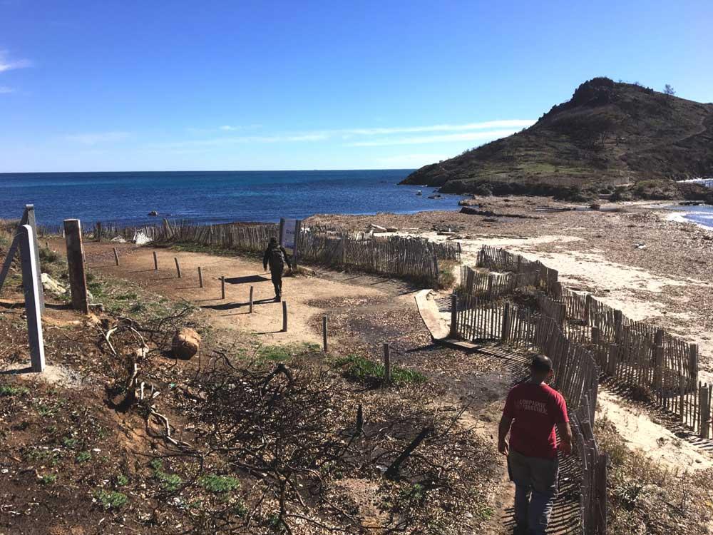 Restauration du sentier du Cap Lardier