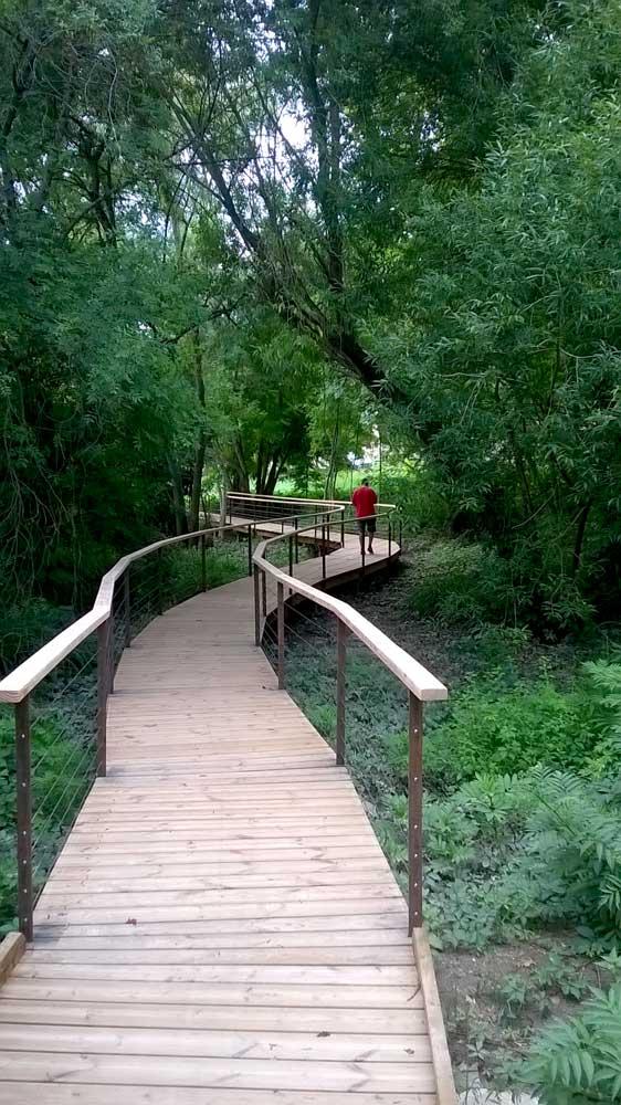 Aménagement d'un cheminement bois - Vallon de l'Artolie
