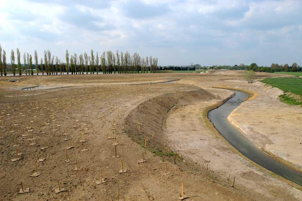 Restauration de cours d'eau - reméandrage