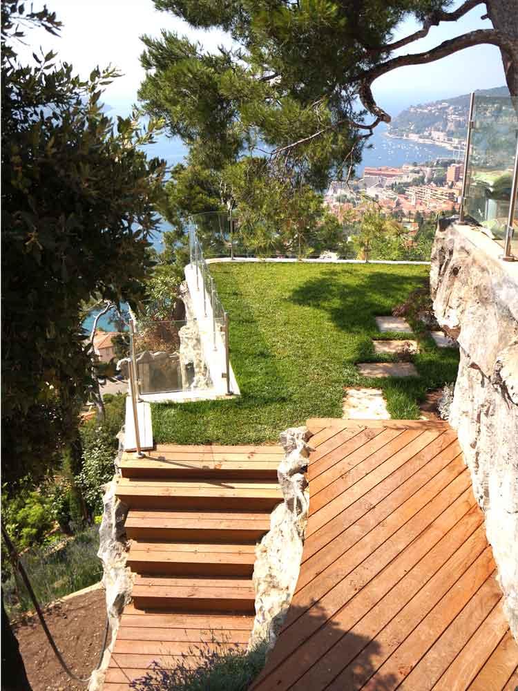 Aménagement bois - escaliers et terrasses