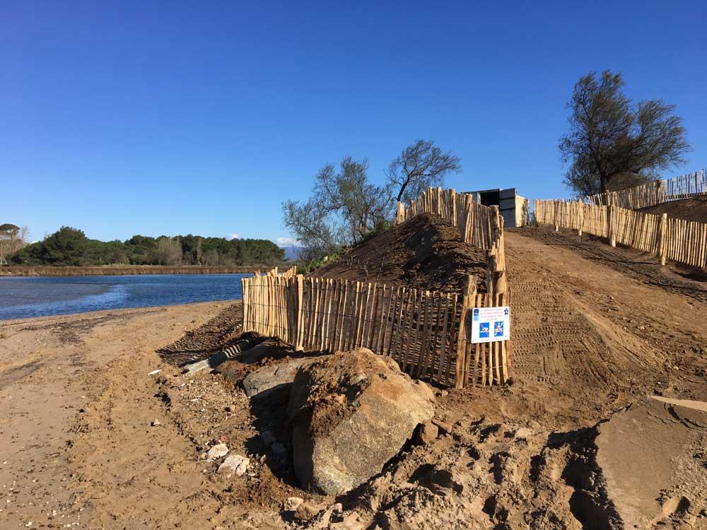 Ganivelles et protection des milieux dunaires