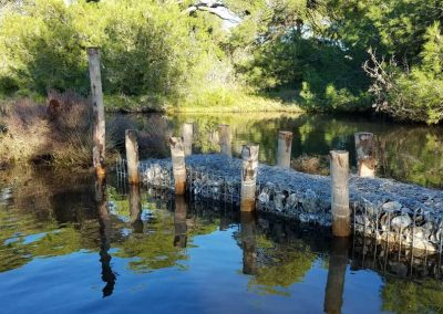 Génie écologique – Restauration du canal du salin des Pesquiers – Fascines d'huîtres – Hyères (Var, 83)