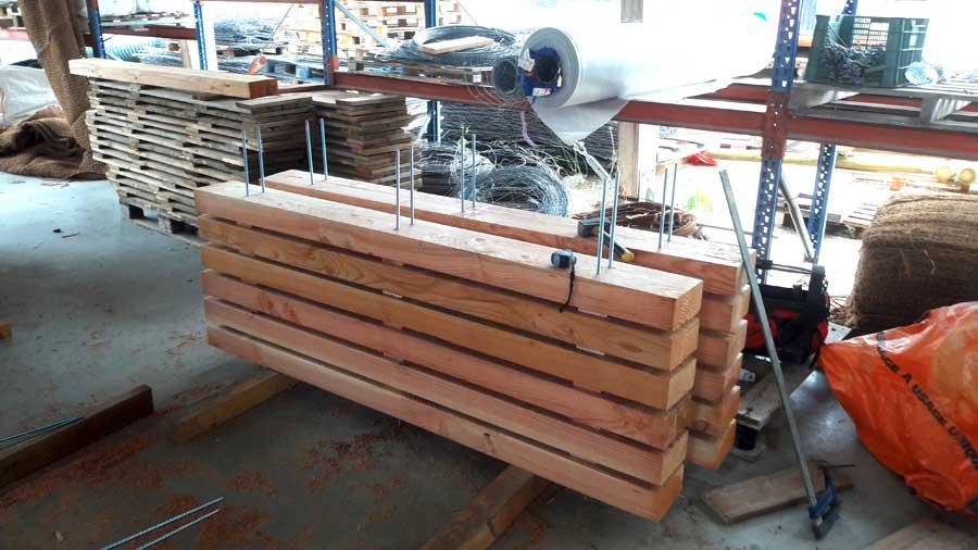 Aménagement bois - Construction de bancs sur-mesure