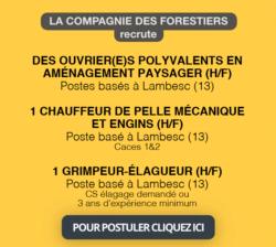 Offre d'emploi La Compagnie des Forestiers