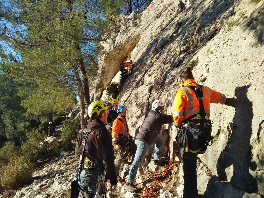 La Compagnie des Forestiers - Formation aux travaux sur cordes