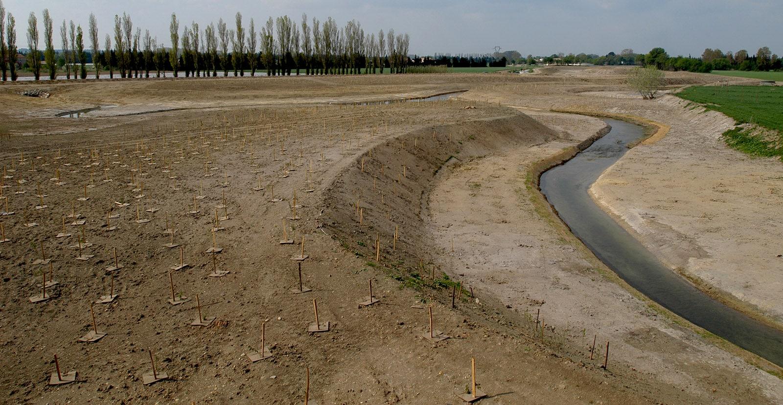 Reméandrage d'un cours d'eau