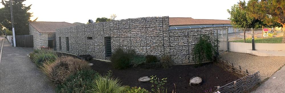 Parement de façade en pierre