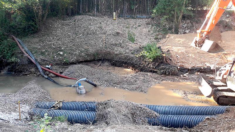 Protection d'une canalisation de gaz pour GRTgaz