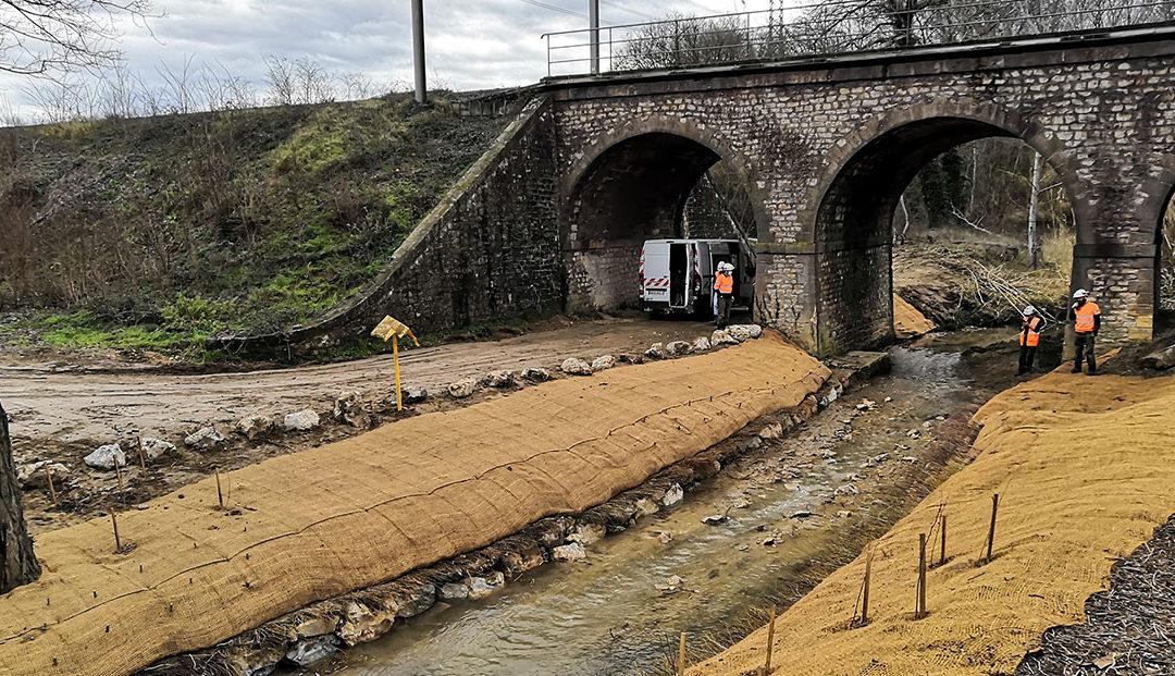 Travaux de protection de canalisations en traversée sous-fluviale (GRTgaz : Bouches-du-Rhône – Gard – Var – Vaucluse)